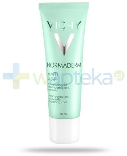 Vichy Normaderm krem przeciwzmarszczkowy zwalczający niedoskonałości do skóry wrażliwej 50 ml