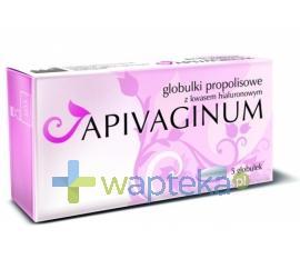 Apivaginum globulki dopochwowe z kwasem hialuronowym i propolisem 5szt
