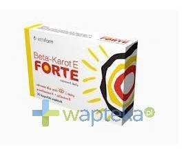 Beta Karot E Forte 30 kapsułek
