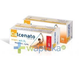 Calcenato 30 tabletek - Data ważności 31-10-2018