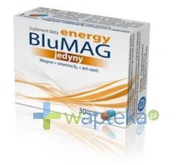 BluMag Energy Jedyny 30 kapsułek