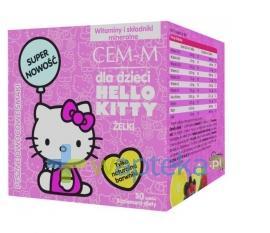 CEM-M Żelki dla dzieci Hello Kitty 50 szt.