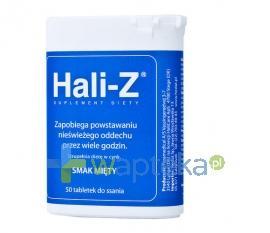 Hali Z tabletki do ssania smak mięty 50 szt