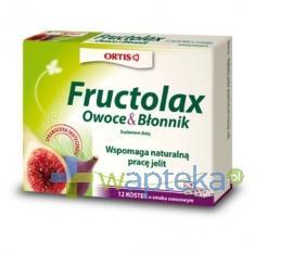 Fructolax kostki 12 sztuk