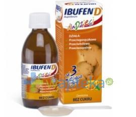Ibufen D zawiesina dla dzieci 120 ml