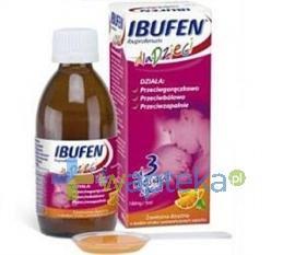 Ibufen dla dzieci syrop pomarańczowy - 100g