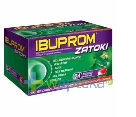 Ibuprom Zatoki 24 tabletek USTAWA!