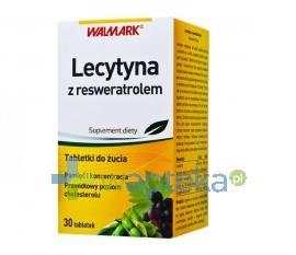 Lecytyna z resweratrolem 30 tabletek