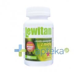 Lewitan MP mięta pieprzowa 200 tabletek