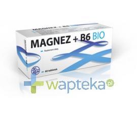 Magnez+B6 BIO 60 tabletek SUN-FARM