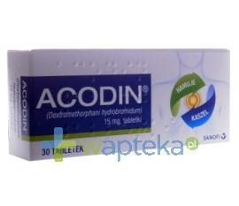 Acodin 15 mg 30 tabletek USTAWA!