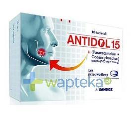 Antidol 15 mg 10 tabletek USTAWA!