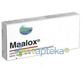 Maalox 400 mg x 40 tabletek