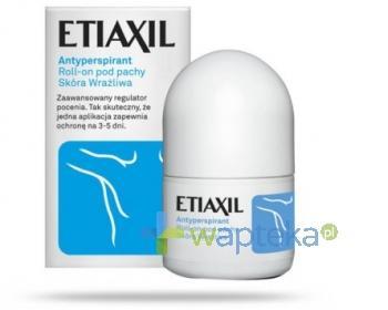 ETIAXIL roll-on antyperspirant do skóry wrażliwej 12,5ml