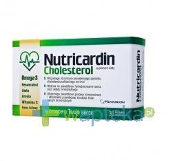 Nutricardin Cholesterol 30 kapsułek