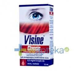 Visine Classic 0,5 mg/ml krople do oczu 15ml