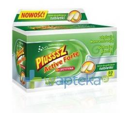 Plusssz Active Forte + Lecytyna 50 tabletek