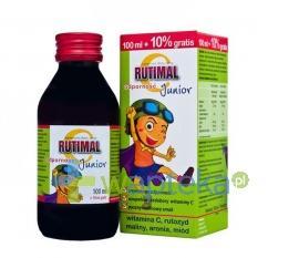 Rutimal C Junior odporność syrop 100 ml
