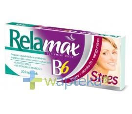 Relamax B6 Stres 20 kapsułek