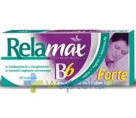 Relamax B6 Forte 30 kapsułek