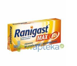 Ranigast Max 10 tabletek - Data ważności 30-06-2017