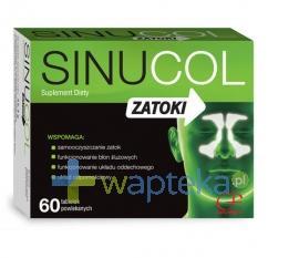 Sinucol Zatoki 60 tabletek