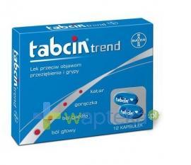 Tabcin Trend 12 kapsułek USTAWA!