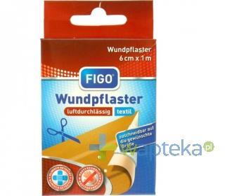 Plaster FIGO opatrunkowy 1 m x 6 cm 1 sztuka