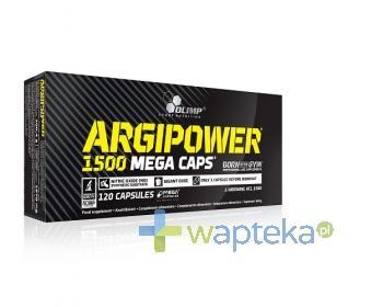 Olimp Argi Power Mega Caps 1500 mg 120 kapsułek