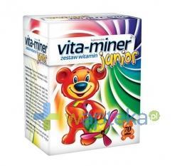 Vita-Miner junior żelki 70 sztuk