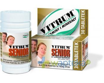 Vitrum Senior z likopenem 100 tabletek