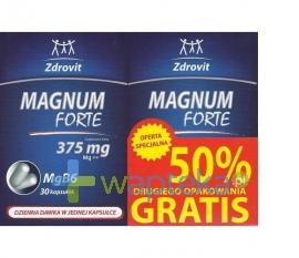 Zdrovit Magnum Forte 375 50% gratis  60 kapsułek