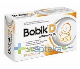 Bobik D witamina D3 30 kapsułek