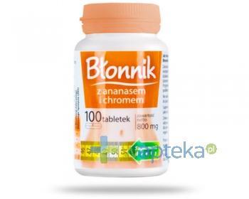 Nomino Błonnik z ananasem + chrom 100 tabletek