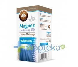 Magnez z witaminą B6 60 kapsułek