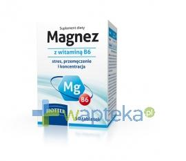 Magnez z witaminą B6 50 tabletek BIOTTER