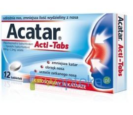 Acatar Acti-Tabs 12 tabletek USTAWA!