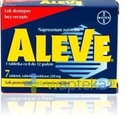 Aleve 0,22 g 7 tabletek