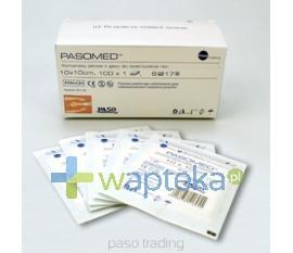 Kompresy jałowy 17 nitkowy 10x10cm  1sztuka Paso-Trading
