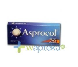 Asprocol 20 tabletek