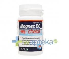 Magnez B6 + Chelat 50 tabletek