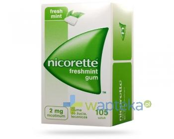 Nicorette Fresh Mint 2mg 105 gum do żucia