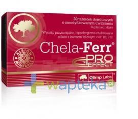 Olimp Chela Ferr Proeffect tabletki dojelitowe 30 tabletek