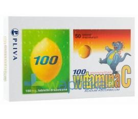 Witamina C 100 Monovitan 50 drażetek