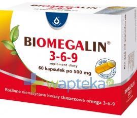 Biomegalin 3-6-9 0,5g 60 kapsułek