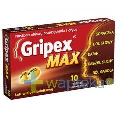 Gripex Max 10 tabletek powlekanych USTAWA!