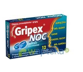 Gripex Noc 12 tabletek powlekanych USTAWA!