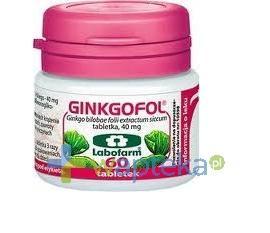 Ginkgofol 0,04 g 60 tabletek