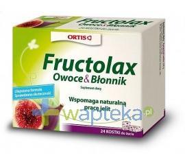 Fructolax kostki 24 sztuki