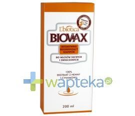 BIOVAX Szampon regenerujący włosy suche i zniszczone 200 ml
